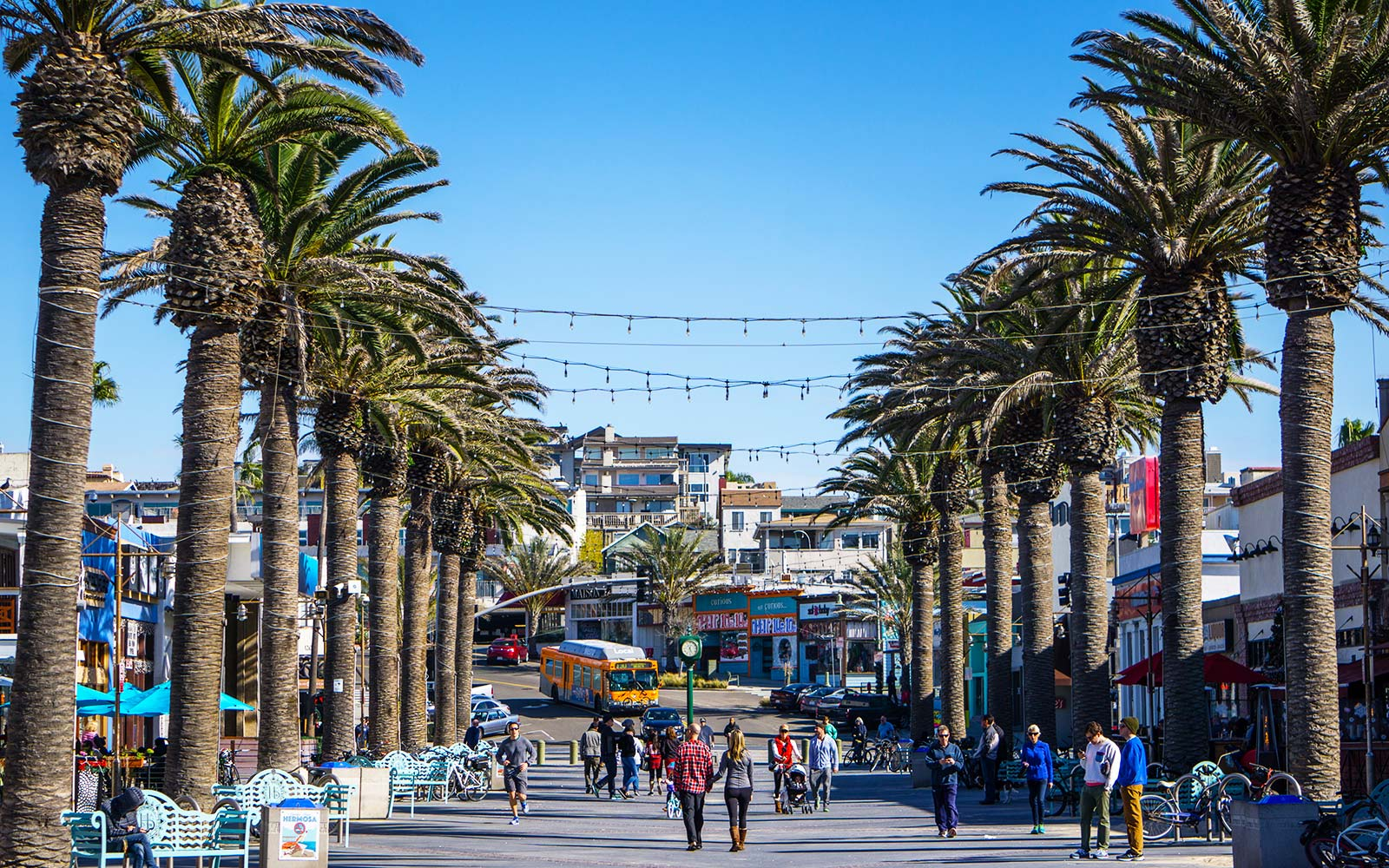 Image result for Hermosa Beach Pier Avenue