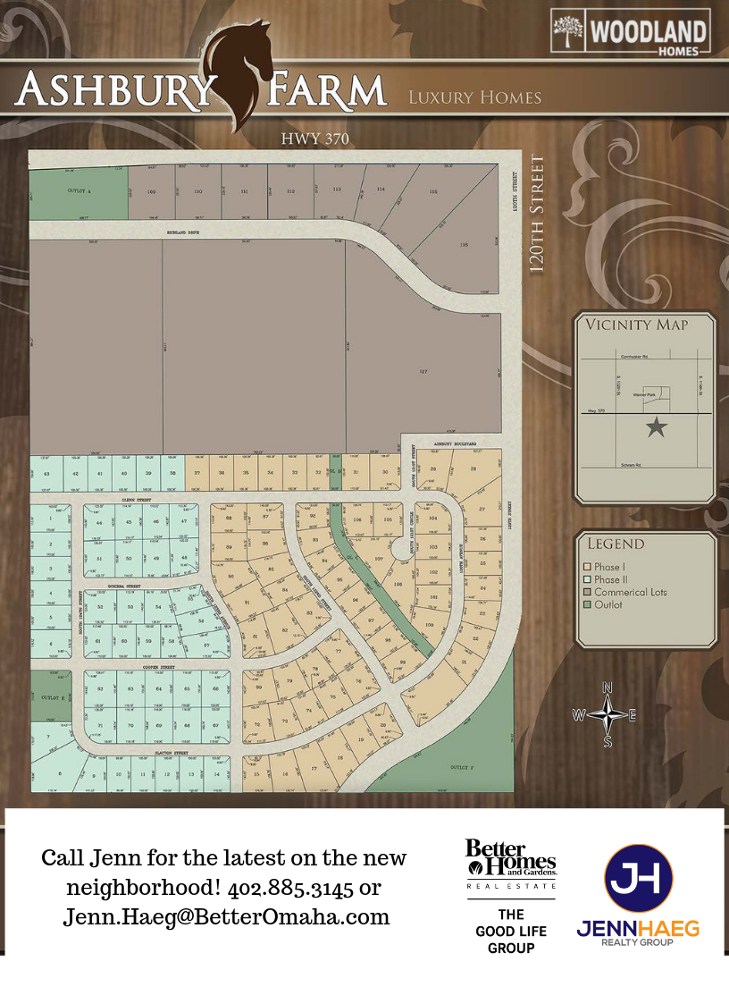 Ashbury Farms Map- Woodland Homes