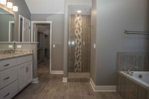 Woodland Homes Omaha - Master Bathroom - Jenn Haeg