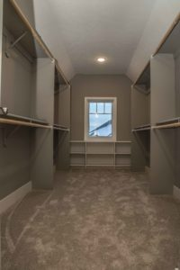 Woodland Homes Omaha - Master Walk-in Closet - Jenn Haeg