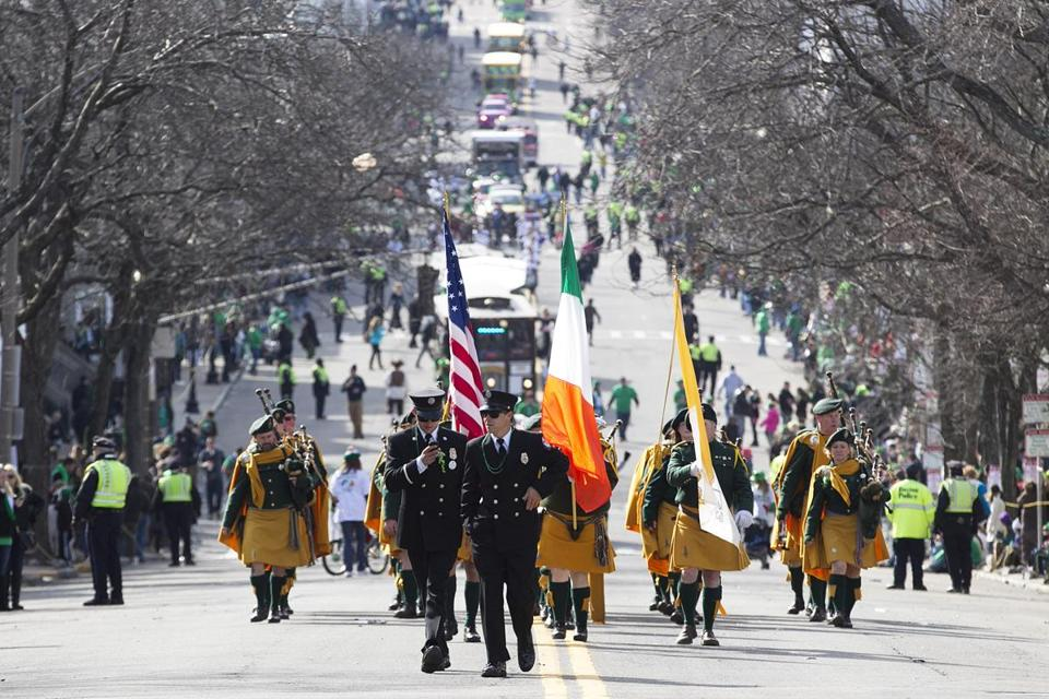 Southie parade