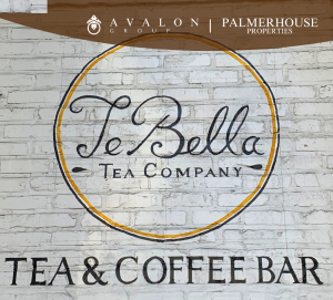 TeBella Sign on Brick of Station House