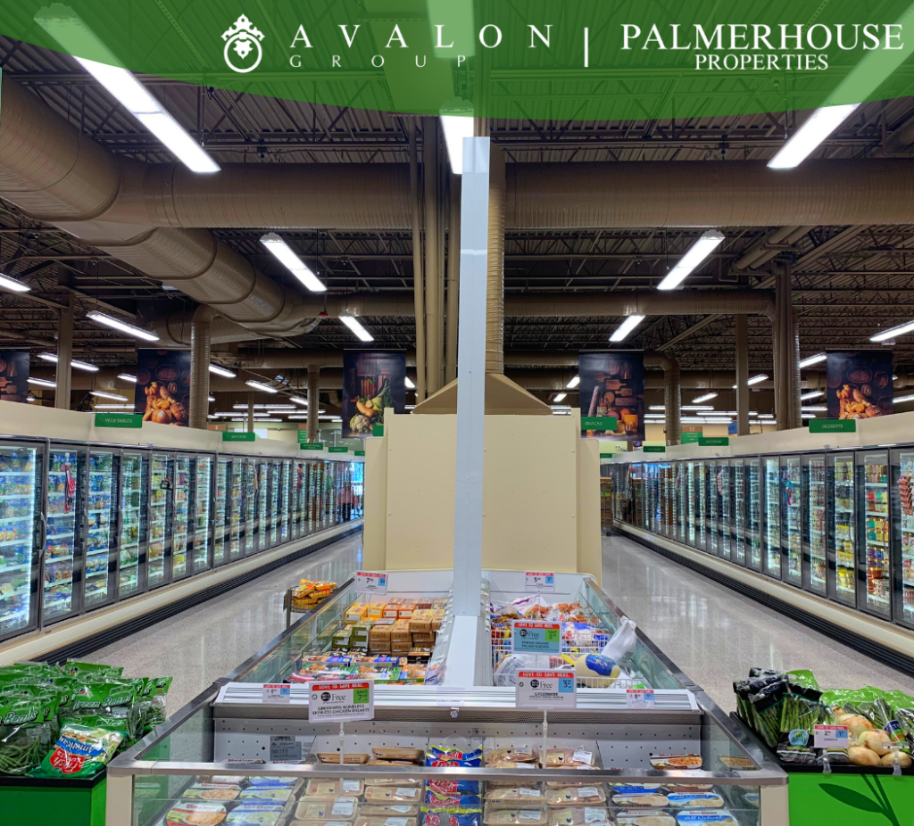 LED Lighting in the Publix at Disston Plaza