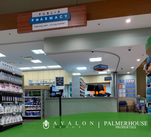 The Disston Plaza Publix has a new modern Pharmacy