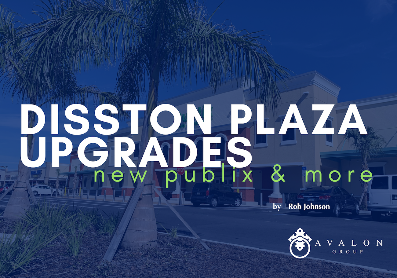 Disston Plaza Upgrades