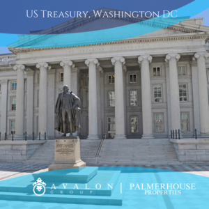 Picture of US Treasury in Washington DC