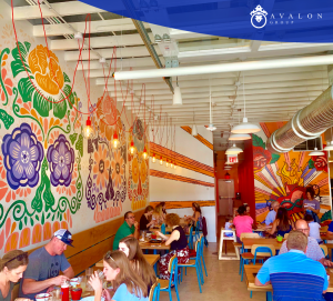 Eating at Amigos will lift your mood to a happy state.
