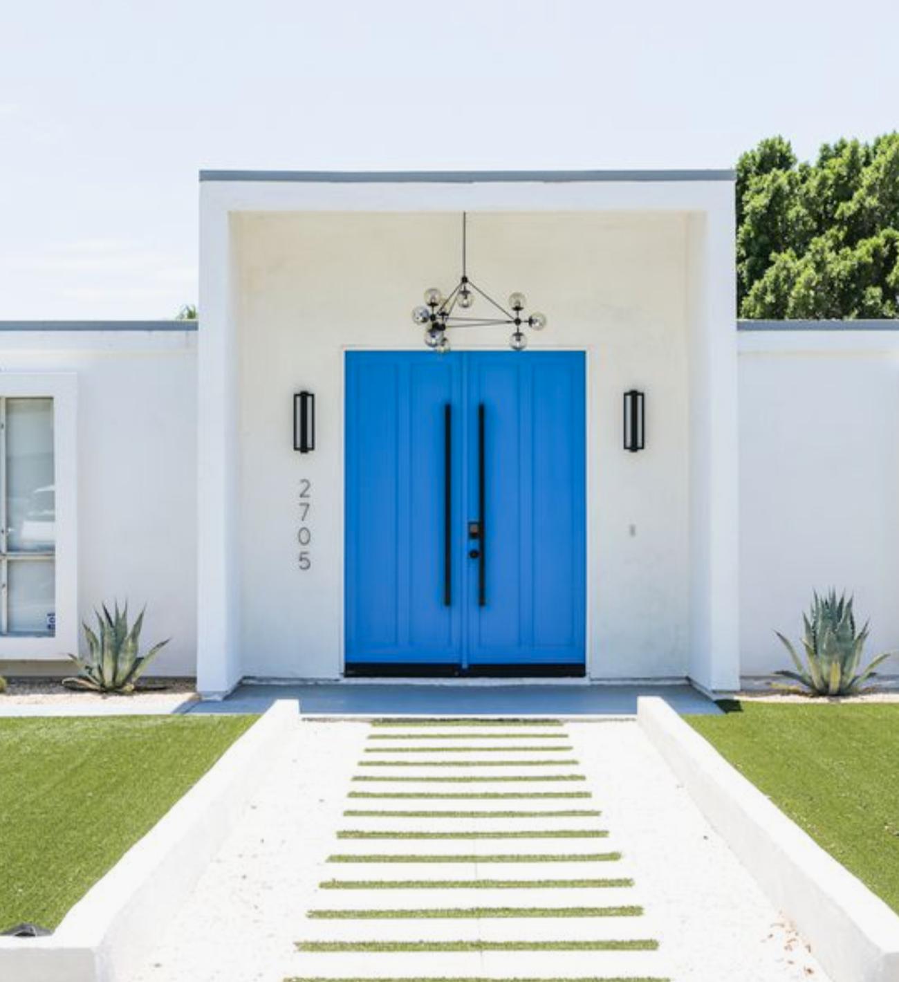 Also, our#2 Clearest Ocean Blue Benjamin Moore 2064-40 Florida Front Door Color is blue like the purest ocean water.