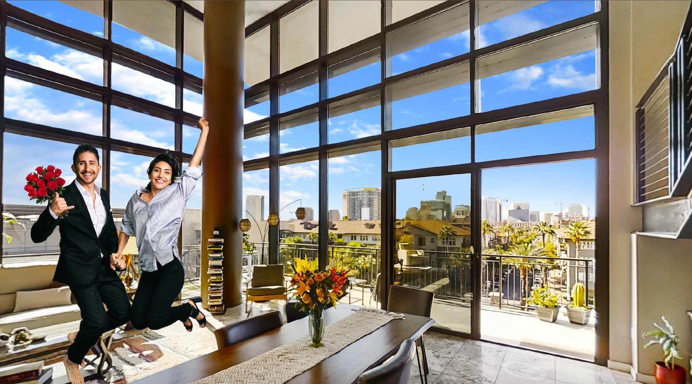 208 W Portland St 556 Phoenix,AZ 85003 - 2 story penthouse at Portland Place